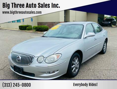 2009 Buick LaCrosse for sale at Big Three Auto Sales Inc. in Detroit MI