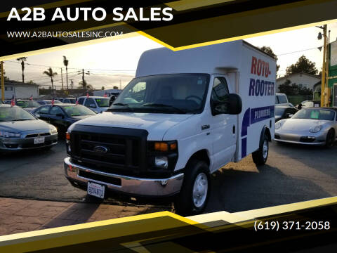 2010 Ford E-Series Chassis for sale at A2B AUTO SALES in Chula Vista CA