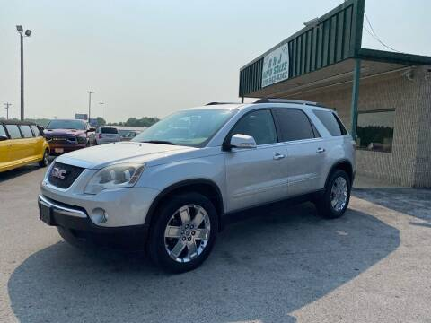 2010 GMC Acadia for sale at B & J Auto Sales in Auburn KY