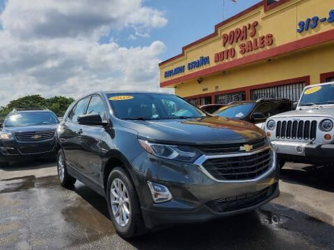 2019 Chevrolet Equinox for sale at Popas Auto Sales in Detroit MI
