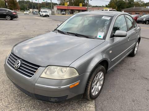 2003 Volkswagen Passat for sale at Diana Rico LLC in Dalton GA