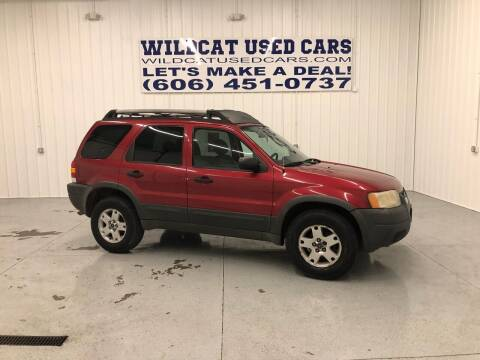 2003 Ford Escape for sale at Wildcat Used Cars in Somerset KY