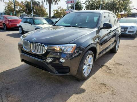2016 BMW X3 for sale at Convoy Motors LLC in National City CA