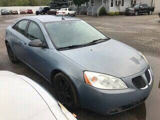 2008 Pontiac G6 for sale at WELLER BUDGET LOT in Grand Rapids MI