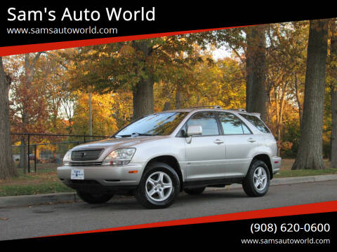 2001 Lexus RX 300 for sale at Sam's Auto World in Roselle NJ