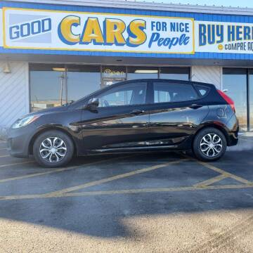 2012 Hyundai Accent for sale at Good Cars 4 Nice People in Omaha NE