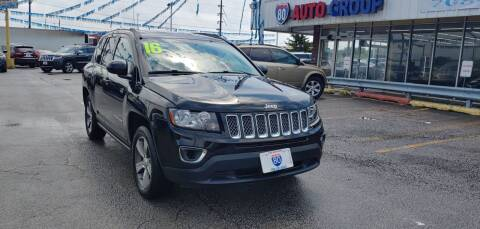 2016 Jeep Compass for sale at I-80 Auto Sales in Hazel Crest IL