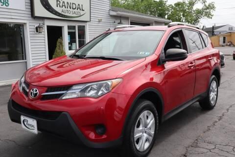 2015 Toyota RAV4 for sale at Randal Auto Sales in Eastampton NJ