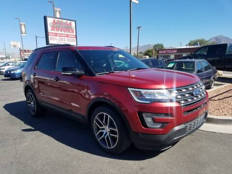2017 Ford Explorer for sale at ATLAS MOTORS INC in Salt Lake City UT