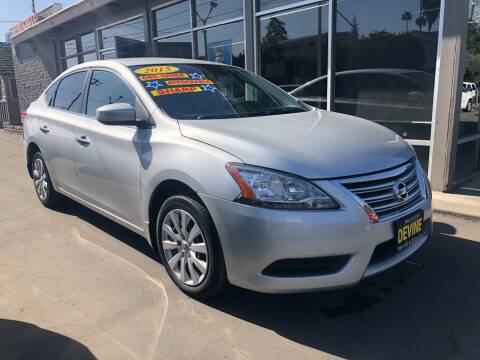 2015 Nissan Sentra for sale at Devine Auto Sales in Modesto CA