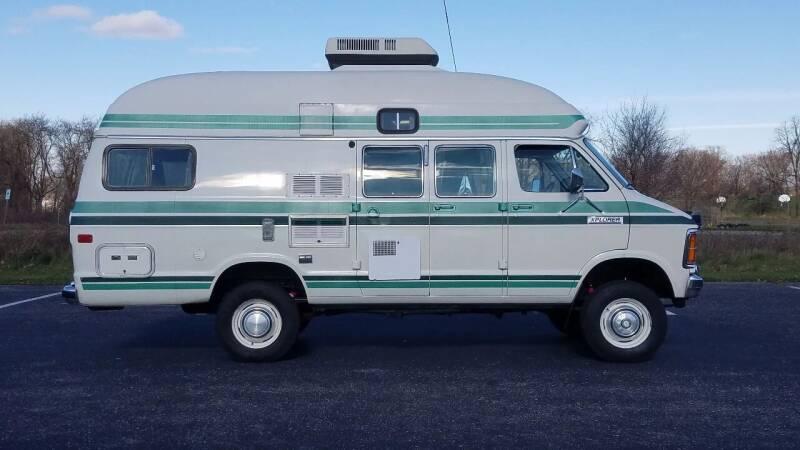 1985 Dodge Ram Van for sale at D & L Auto Sales in Wayland MI