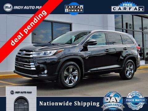 2017 Toyota Highlander Hybrid for sale at INDY AUTO MAN in Indianapolis IN