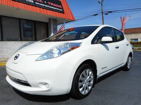 2014 Nissan LEAF for sale at Super Sports & Imports in Jonesville NC