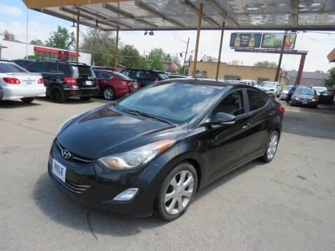 2011 Hyundai Elantra for sale at Nile Auto Sales in Denver CO