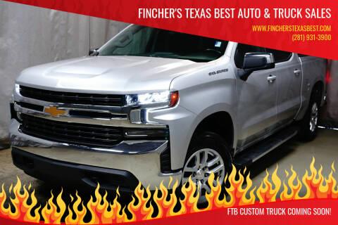 2019 Chevrolet Silverado 1500 for sale at Fincher's Texas Best Auto & Truck Sales in Houston TX