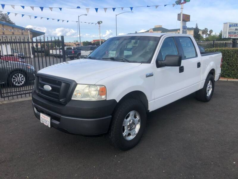 2008 Ford F-150 for sale at BOARDWALK MOTOR COMPANY in Fairfield CA