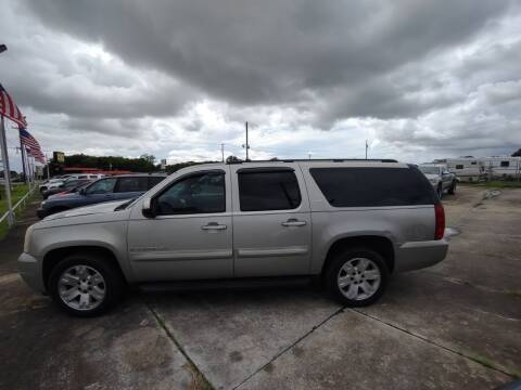 2008 GMC Yukon XL for sale at BIG 7 USED CARS INC in League City TX