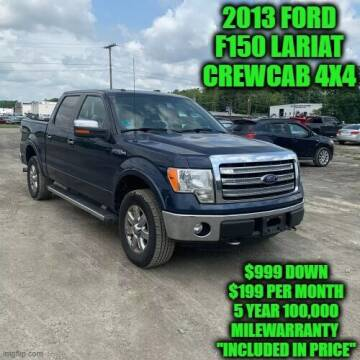 2013 Ford F-150 for sale at D&D Auto Sales, LLC in Rowley MA