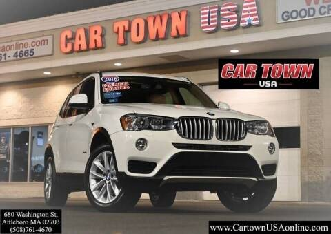 2016 BMW X3 for sale at Car Town USA in Attleboro MA