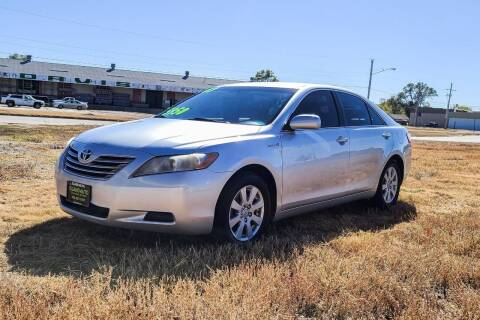 2007 Toyota Camry Hybrid for sale at Island Auto Express in Grand Island NE