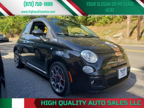 2012 FIAT 500 for sale at High Quality Auto Sales LLC in Bloomingdale NJ