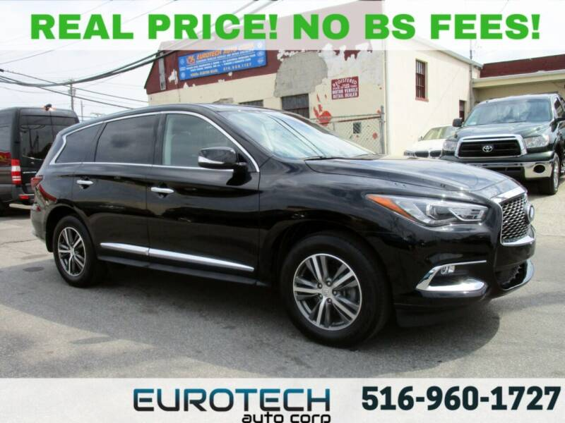 2019 Infiniti QX60 for sale at EUROTECH AUTO CORP in Island Park NY