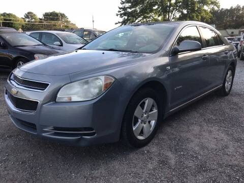 2008 Chevrolet Malibu Hybrid for sale at CAR STOP INC in Duluth GA