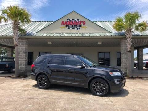 2017 Ford Explorer for sale at Rabeaux's Auto Sales in Lafayette LA