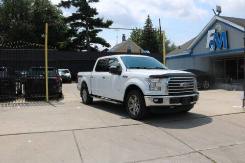 2015 Ford F-150 for sale at F & M AUTO SALES in Detroit MI