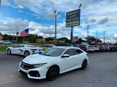 2019 Honda Civic for sale at Michaels Autos in Orlando FL