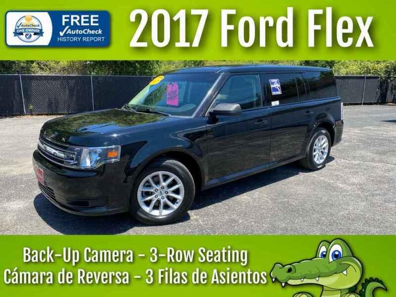 2017 Ford Flex for sale at LIQUIDATORS in Houston TX