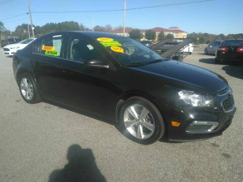 2015 Chevrolet Cruze for sale at Kelly & Kelly Supermarket of Cars in Fayetteville NC