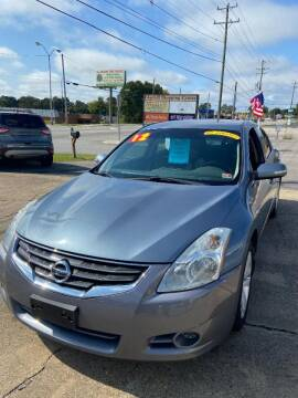 2012 Nissan Altima for sale at Top Auto Sales in Petersburg VA