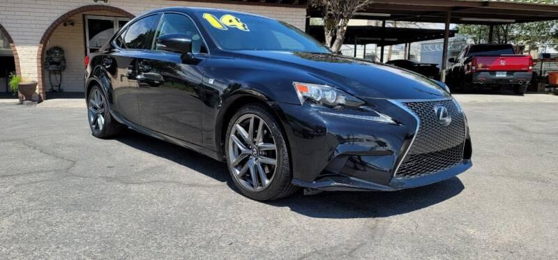 2014 Lexus IS 250 for sale at FRANCIA MOTORS in El Paso TX