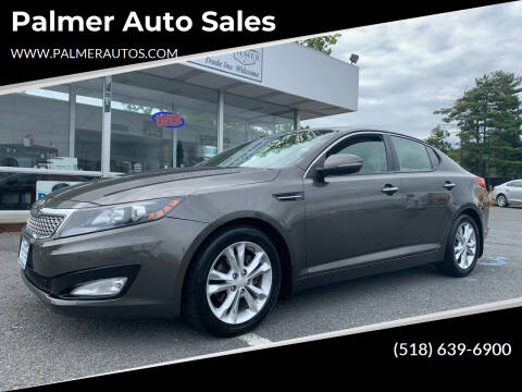 2012 Kia Optima for sale at Palmer Auto Sales in Menands NY