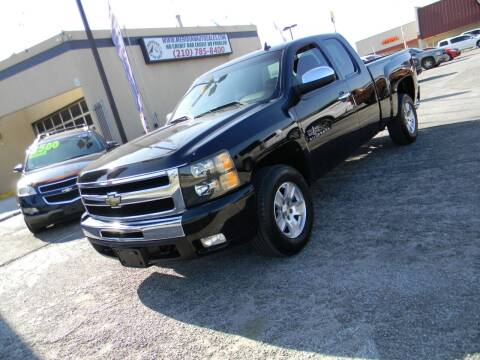 2011 Chevrolet Silverado 1500 for sale at Meridian Auto Sales in San Antonio TX