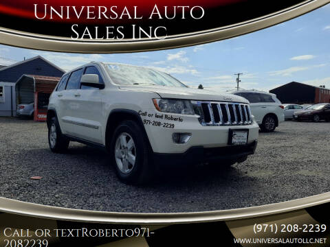 2012 Jeep Grand Cherokee for sale at Universal Auto Sales Inc in Salem OR