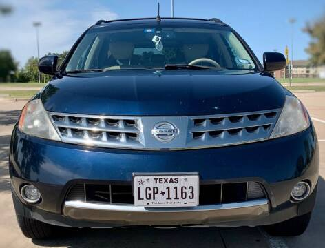 2007 Nissan Murano for sale at Driveline Auto Solution, LLC in Wylie TX