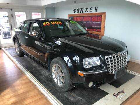 2009 Chrysler 300 for sale at Forkey Auto & Trailer Sales in La Fargeville NY