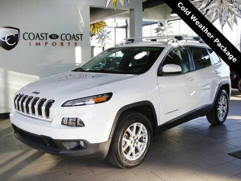 2016 Jeep Cherokee for sale at Coast to Coast Imports in Fishers IN