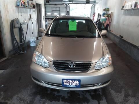 2008 Toyota Corolla for sale at MICHAEL MOTORS in Farmington ME