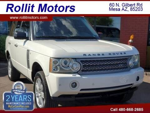 2007 Land Rover Range Rover for sale at Rollit Motors in Mesa AZ