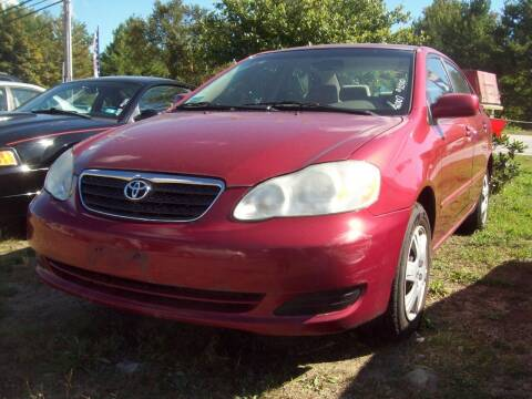 2007 Toyota Corolla for sale at Frank Coffey in Milford NH