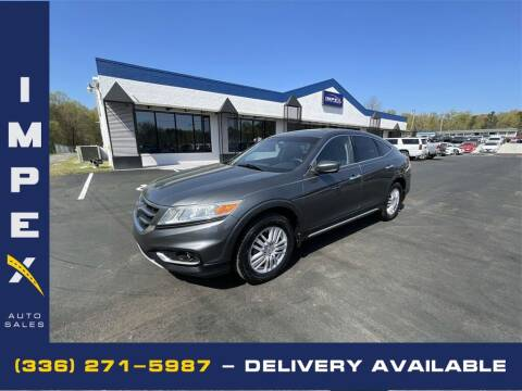 2013 Honda Crosstour for sale at Impex Auto Sales in Greensboro NC