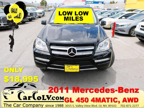 2011 Mercedes-Benz GL-Class for sale at The Car Company in Las Vegas NV