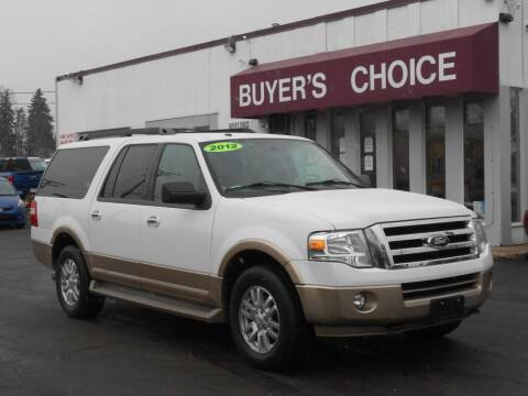2012 Ford Expedition EL for sale at Buyers Choice Auto Sales in Bedford OH