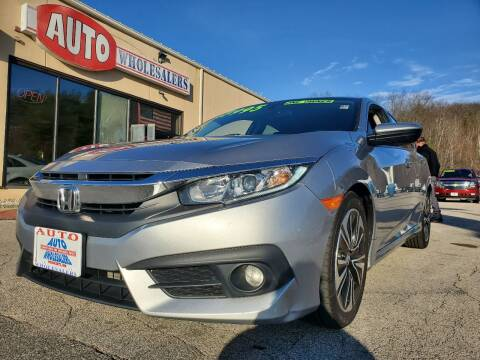 2016 Honda Civic for sale at Auto Wholesalers Of Hooksett in Hooksett NH