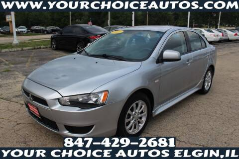 2011 Mitsubishi Lancer for sale at Your Choice Autos - Elgin in Elgin IL