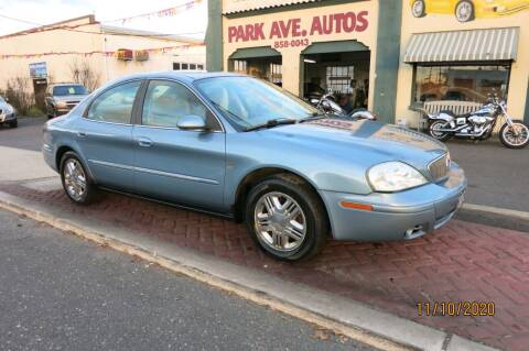 2005 Mercury Sable for sale at PARK AVENUE AUTOS in Collingswood NJ