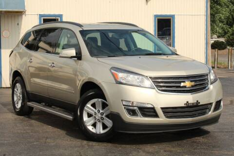 2013 Chevrolet Traverse for sale at Dynamics Auto Sale in Highland IN
